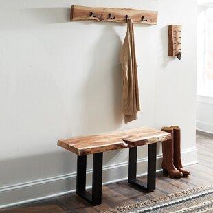 Entryway Coat Rack Bench Combo | Wayfair