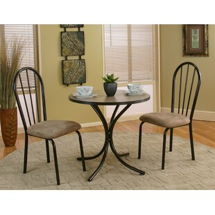 Homole 3 Piece Dining Set World Menagerie