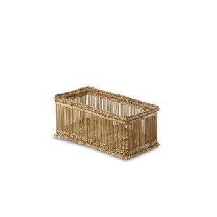 Liana Wicker Rectangular Basket