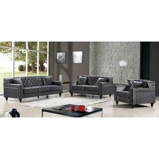 Willa Arlo Interiors Honore Configurable Living Room Set