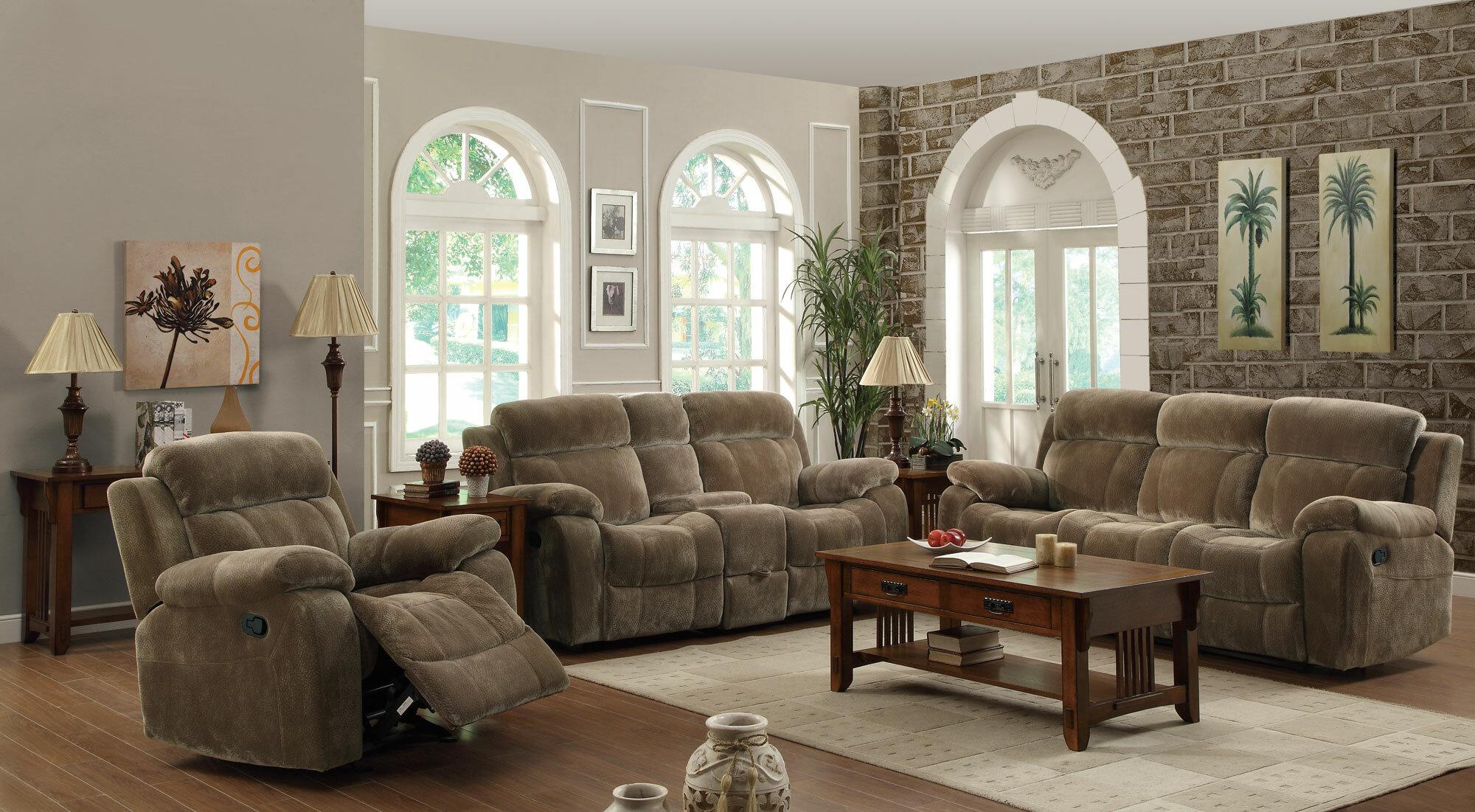 Victor Reclining Configurable Living Room Set