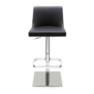 Rome Adjustable Height Swivel Bar Stool b..