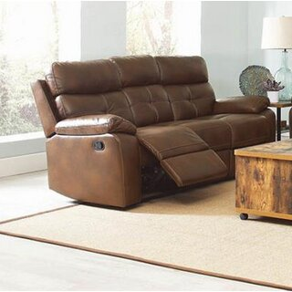 Amidon Motion Reclining Sofa by Canora Grey SKU:BC397836 Details