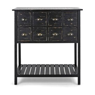 Sturdivant 8 Drawers Wooden Console Table by Gracie Oaks