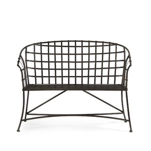 Louane Metal Bench by Gracie Oaks