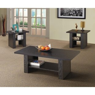 Compare prices Fuhr 3 Piece Coffee Table Set By Latitude Run