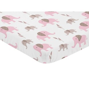 Affordable Price Mod Elephant Mini Fitted Crib Sheet BySweet Jojo Designs