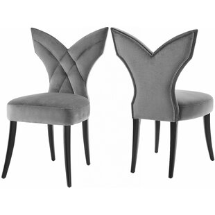 Boylon Upholstered Dining Chair (Set of 2) Mercer41