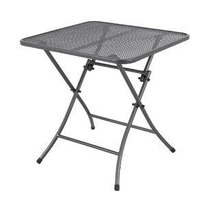 Ewen Folding Steel Dining Table Image