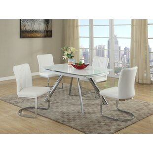 DeAnn 5 Piece Dining Set Orren Ellis
