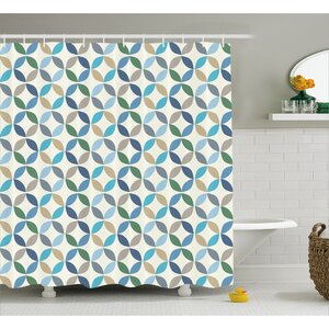 Fairlee Stripes Decor Shower Curtain