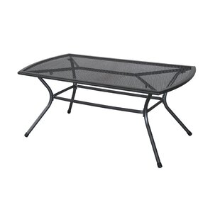 Capetown Steel Mesh Metal Coffee Table