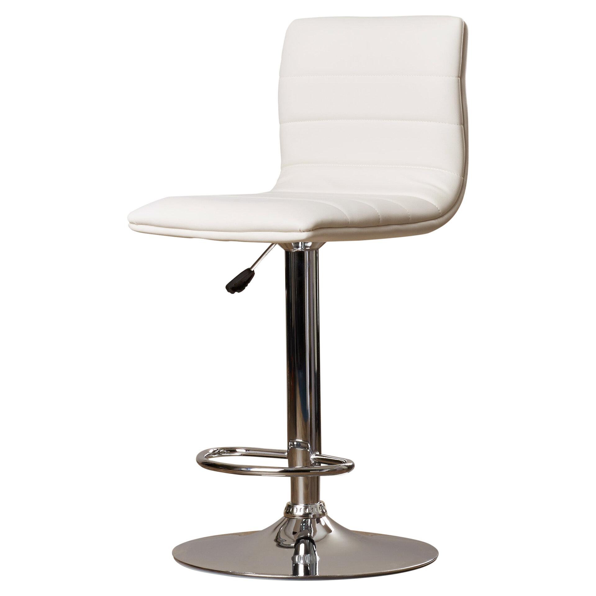 Admirable Alexandrea Adjustable Height Swivel Bar Stool Beatyapartments Chair Design Images Beatyapartmentscom