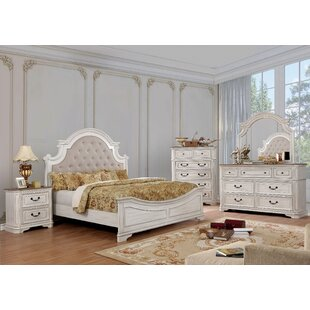 Miah Upholstered Panel Configurable Bedroom Set by Rosdorf Park
