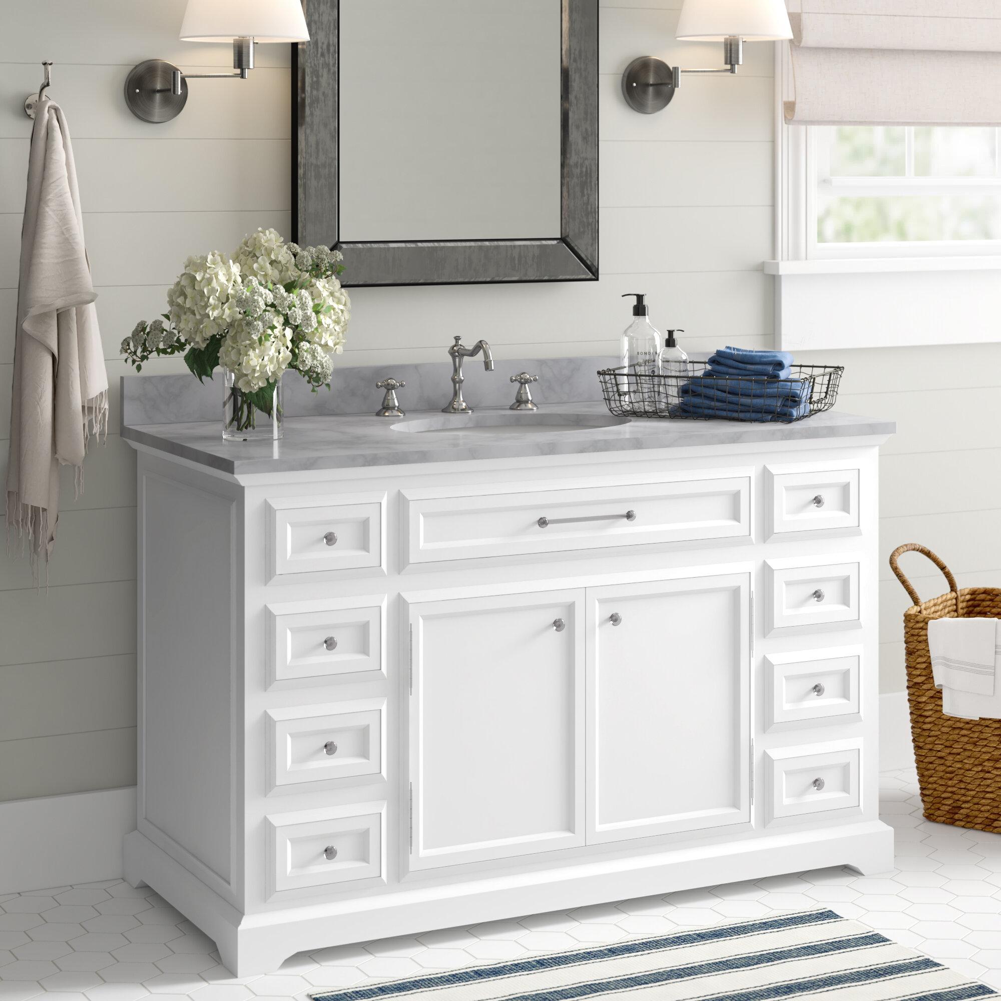 Rooney 48 Single Bathroom Vanity Set Reviews Birch Lane