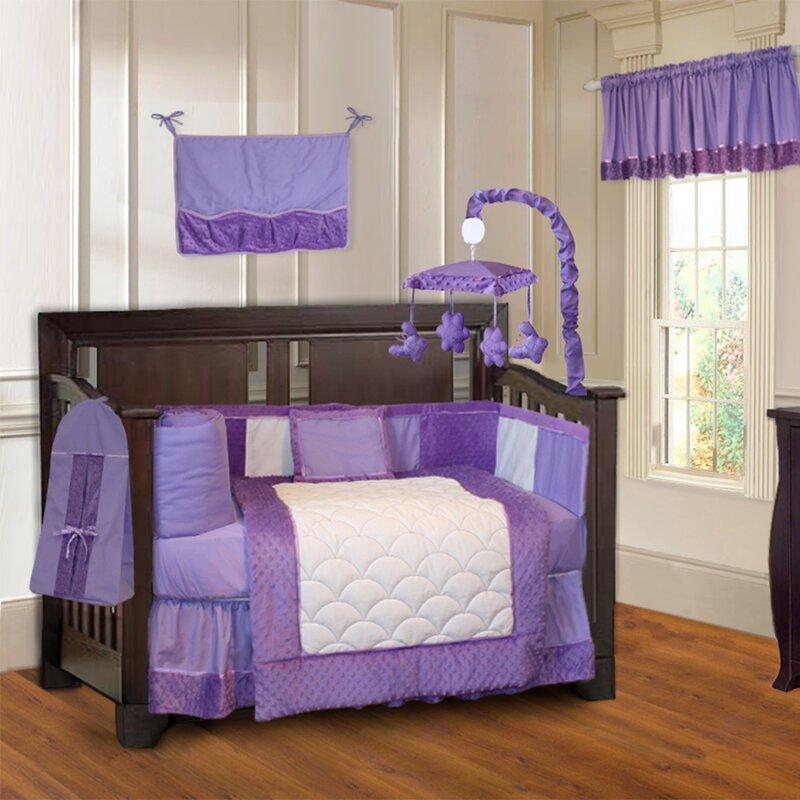 Frank Minky Baby 10 Piece Crib Bedding Set