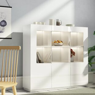 Wilton Display Cabinet With Lighting By Metro Lane