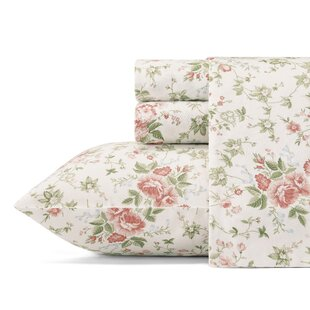 Lilian 100% Cotton 2-piece Sheet Set by Laura Ashley Home