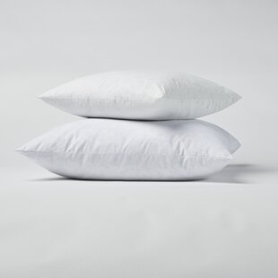 Down and Feathers Pillow (Set of 2) By Alwyn Home