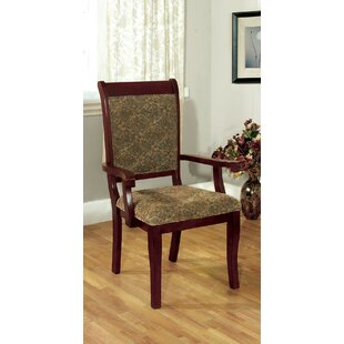 Knutsford Upholstered Dining Chair (Set of 2) Fleur De Lis Living