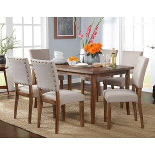 Lassiter 7 Piece Solid Wood Dining Set