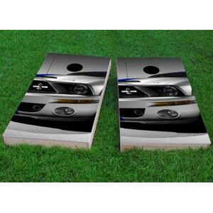 Ford Mustang Front End Cornhole Game (Set of 2)