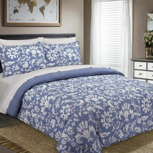 Malaki 3 Piece Reversible Bedding Set