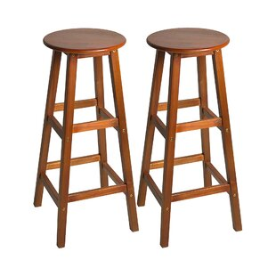 Bernstein 76cm Bar Stool (Set Of 2) By Marlow Home Co.