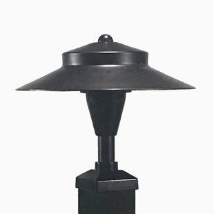 Reviews 1 Light LED Fence Post Cap By Tru-Scapes Deck Lighting