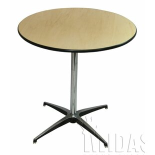 Midas Event Supply Elite Wood Table With Adjustable Post
