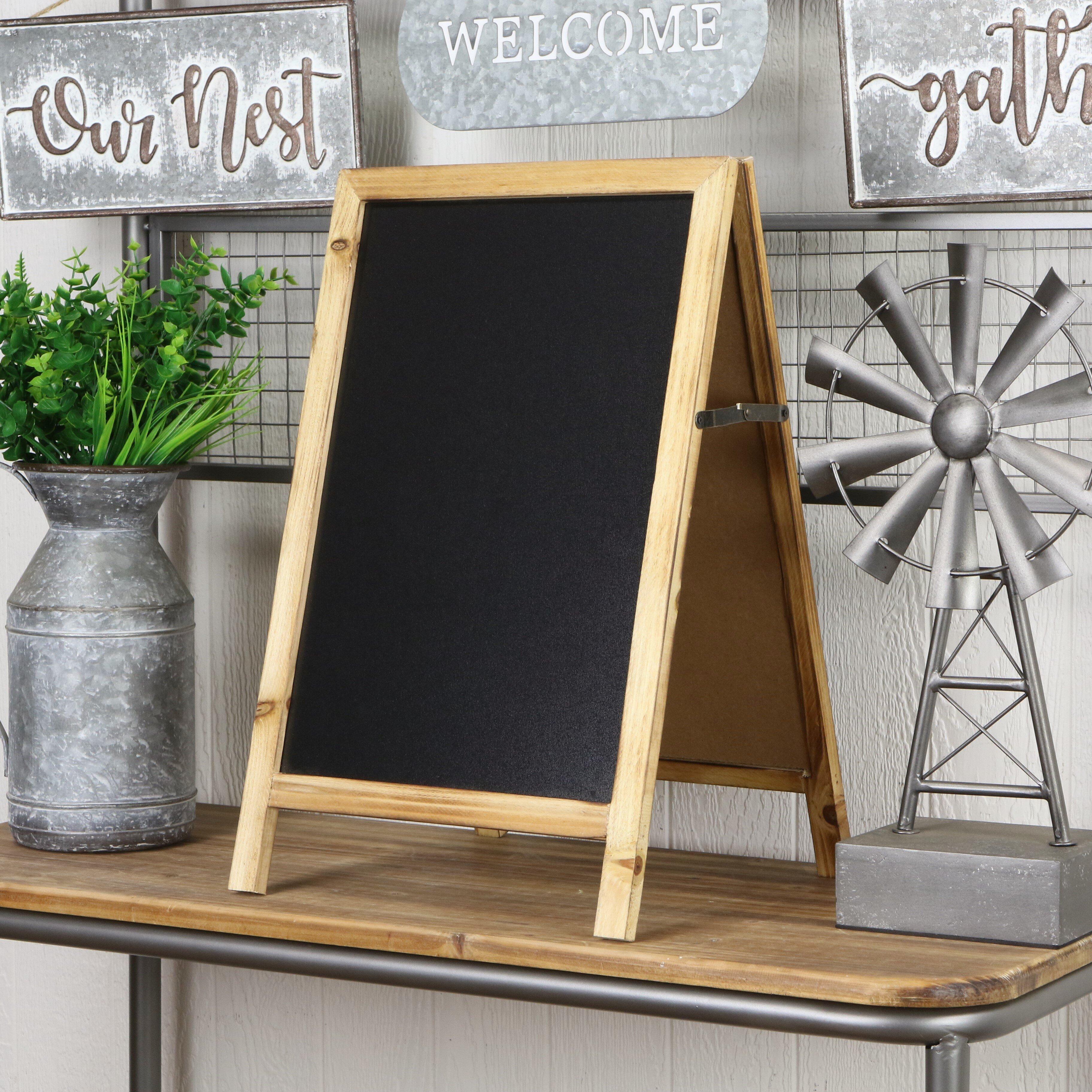 Chalkboard Free Standing Memo Boards You Ll Love In 2021 Wayfair