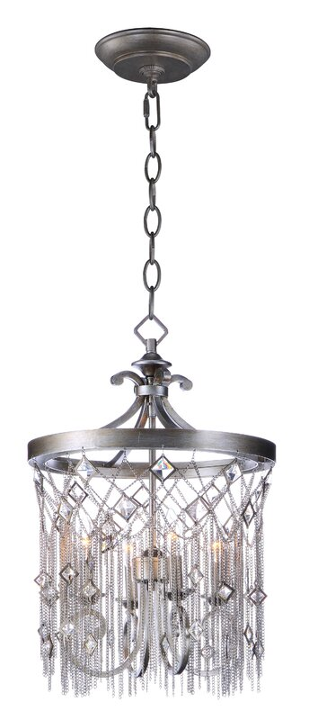 rosdorf park danae 4 light mini chandelier reviews wayfair. Black Bedroom Furniture Sets. Home Design Ideas