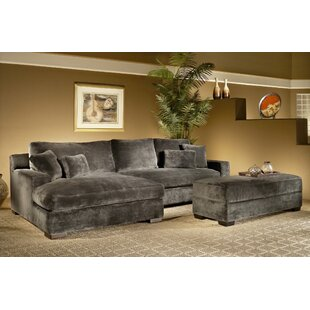 Eddie Reversible Sectional with Ottoman