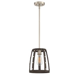 Williston Forge Newell 1-Light Geometric Pendant