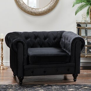 Wycoff Chesterfield Chair by House of Hampton