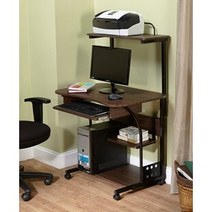 Computer Desk With Storage by TMS