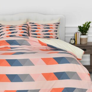 East Urban Home Fall Layers Duvet Cover Set