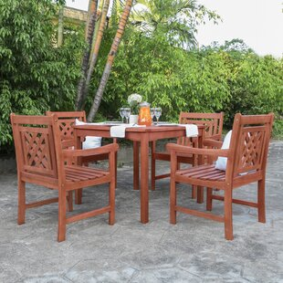 Stephenie 5 Piece Patio Dining Set