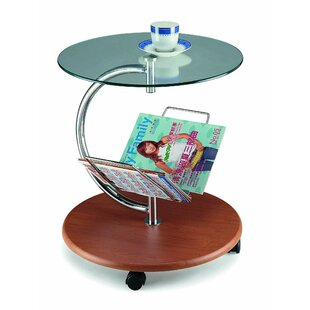 Reviews Stepp-C End Table By Orren Ellis