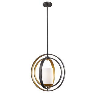 Kiara 1-Light Globe Pendant by Mercer41