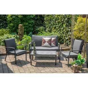 Prashant 4 Seater Conversation Set By Sol 72 Outdoor