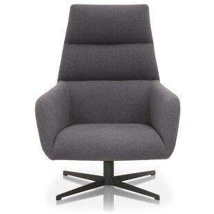 Orren Ellis Sunderhaus Swivel Club Chair