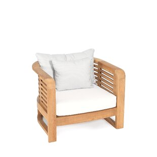 OASIQ Hamilton Teak Patio Chair with Cush..