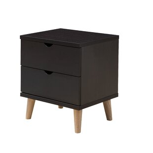 Bowie 2 Drawer Nightstand
