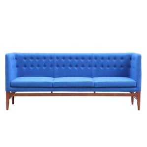 Mayor Mid Century Modern Chesterfield Sofa by Kardiel