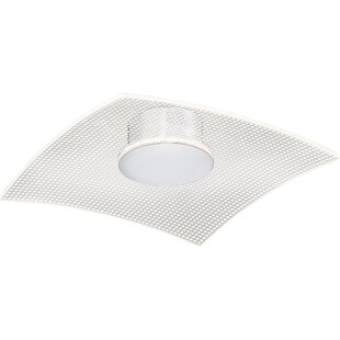 Orren Ellis Coletta Bravo 1-Light LED Flush Mount