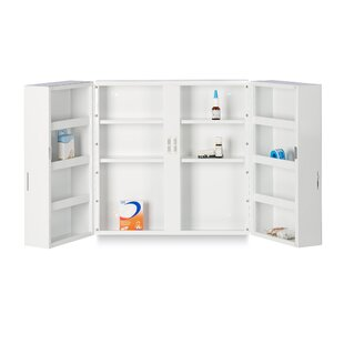 Mcnew 53cm X 53cm Surface Mount Medicine Cabinet By Rebrilliant