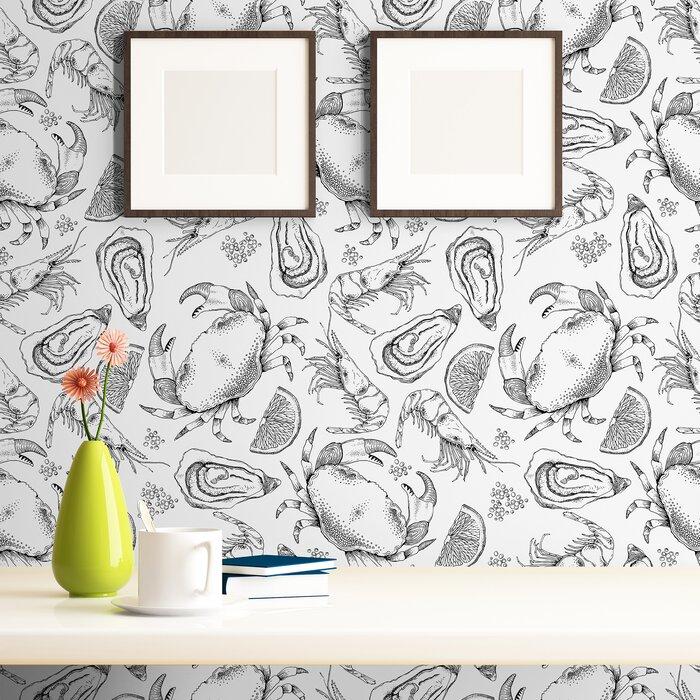 Joshua Fish Nautical Removable Peel And Stick Wallpaper Panel