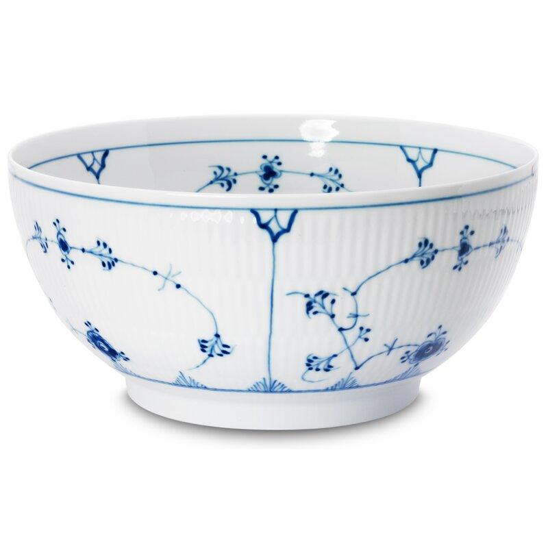 Royal Copenhagen Blue Fluted Plain 104 Fl Oz Serving Bowl Perigold