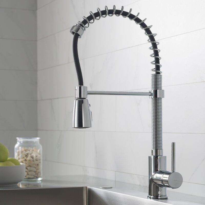 Kpf 1612ss Kraus Pull Down Single Handle Kitchen Faucet Reviews